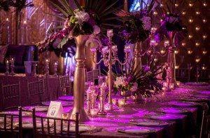 A Colourful and Glamorous Indian Wedding - Table