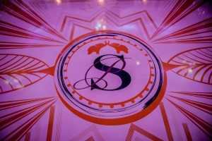 A Colourful and Glamorous Indian Wedding - Floor Design