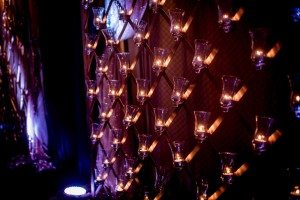A Colourful and Glamorous Indian Wedding - Candles