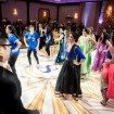 A Colourful and Glamorous Indian Wedding - Guests Dancing