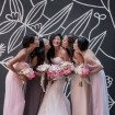 A Romantic Wedding In Downtown Toronto - Bride and Bridesmaids