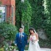 A Romantic Wedding In Downtown Toronto - Bride and Groom