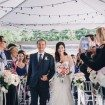 A Romantic Wedding In Downtown Toronto - Bride and Her Father
