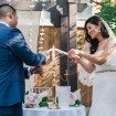A Romantic Wedding In Downtown Toronto - Bride and Groom Ceremony