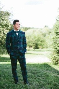 An Elegant Farm Wedding in Creemore - Groom