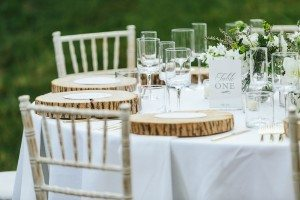 An Elegant Farm Wedding in Creemore - Table