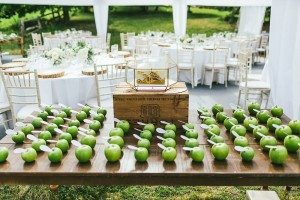 An Elegant Farm Wedding in Creemore - Place Cards