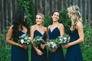 An Elegant Farm Wedding in Creemore - Bridesmaids