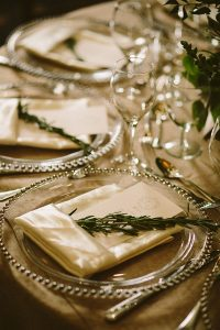 A Country-Chic Wedding in Montebello, Quebec - Table Setting