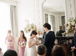 An English Garden Themed Wedding in Vancouver - Ceremony