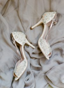 An English Garden Themed Wedding in Vancouver - Shoes