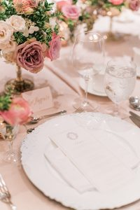 An English Garden Themed Wedding in Vancouver - Place Setting