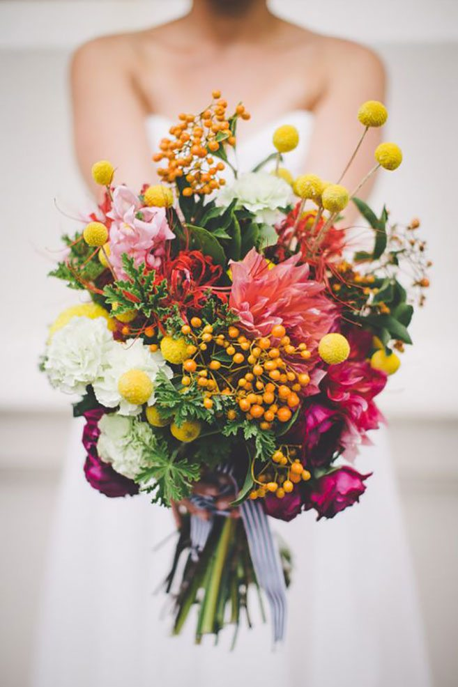 Wildflower Bouquets For Every Type Of Wedding | Weddingbells