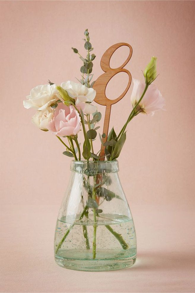 Table Number Ideas To Suit Every Wedding Theme Weddingbells