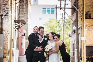 A Country Glam Wedding in Manitoba - Bridal Party