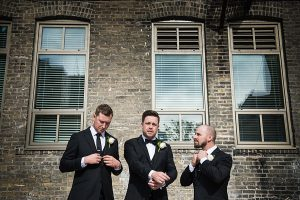 A Country Glam Wedding in Manitoba - Groom and Groomsmen