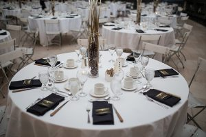 A Country Glam Wedding in Manitoba - Table Setting