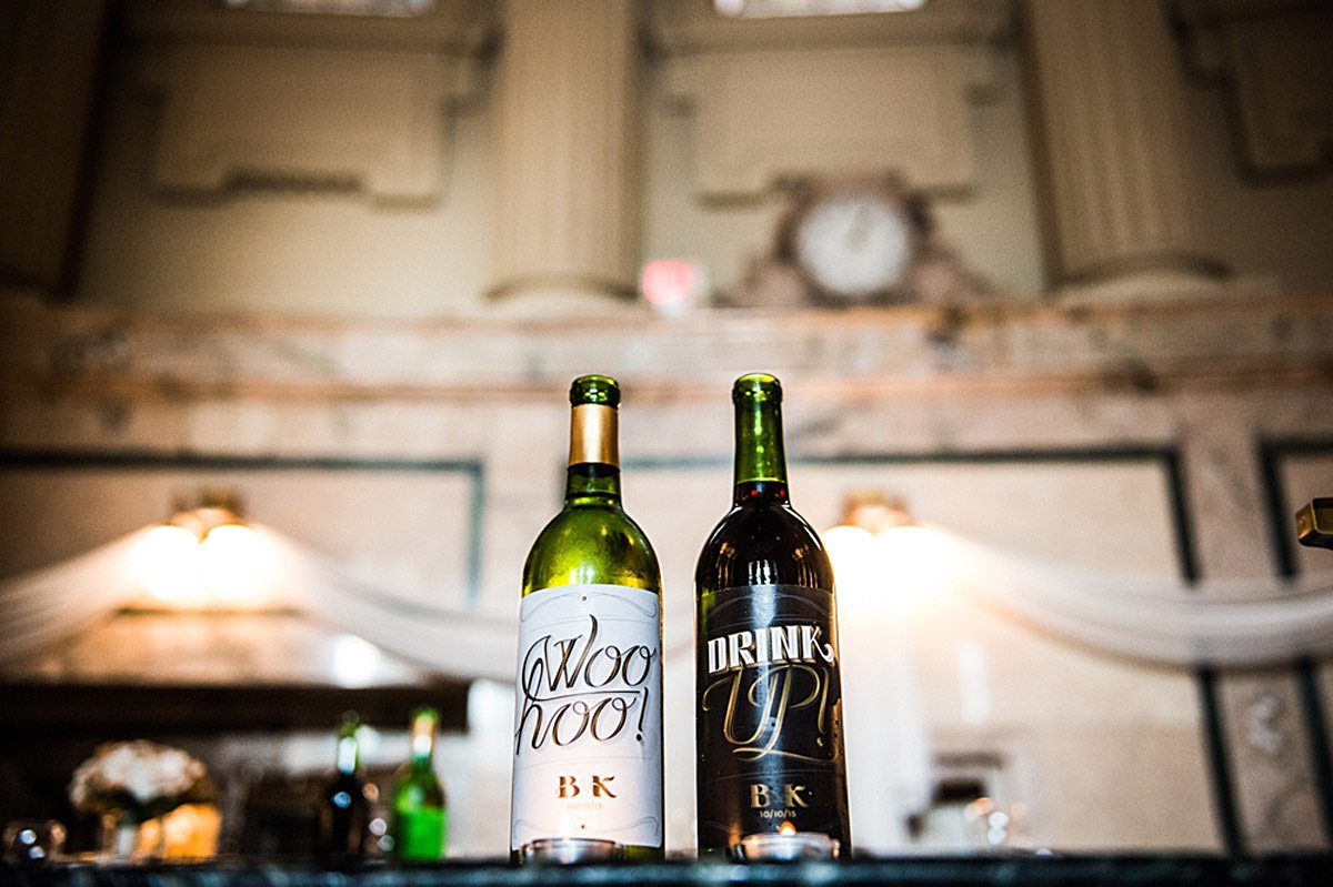 A Country Glam Wedding in Manitoba - Wine