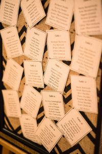 A Country Glam Wedding in Manitoba - Seating Chart