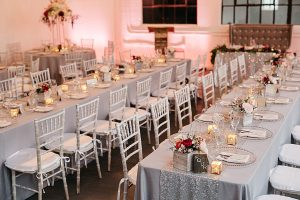 An Industrial Glam Wedding in Calgary - Tables