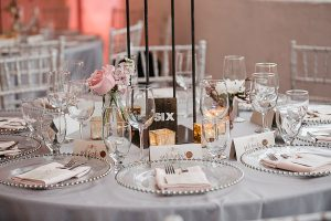 An Industrial Glam Wedding in Calgary - Table
