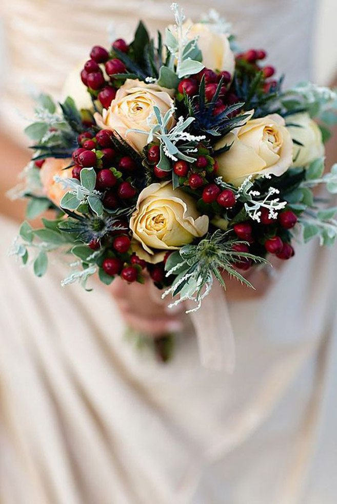 The best flowers for winter weddings weddingbells junglespirit Image collections