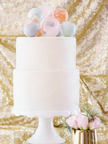 Creative Cake Toppers - DIY Baubles