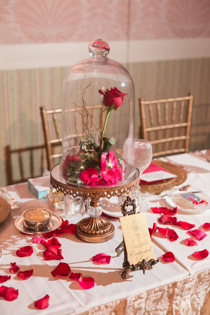 69e1c027b3d Beauty And The Beast-Inspired Details For A Fairy Tale Wedding ...