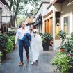 A Whimsical White Wedding in Toronto - Bride and Groom