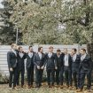 A Boho-Chic Wedding at the University of Saskatchewan - Groom and Groomsmen