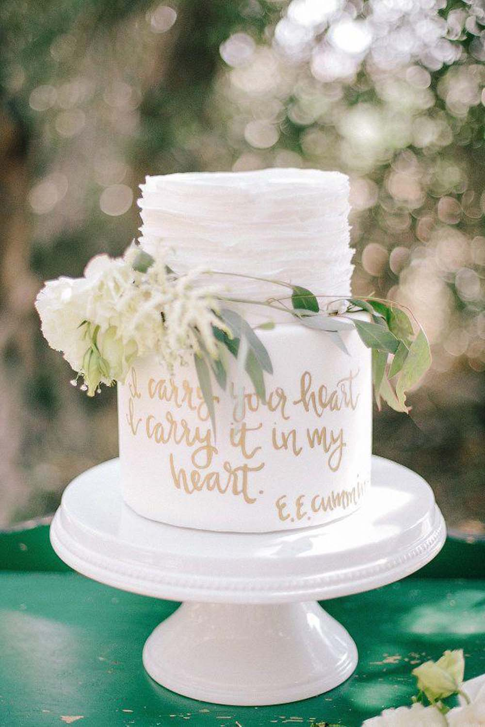 The Top 10 Best Blogs on White Wedding Cakes