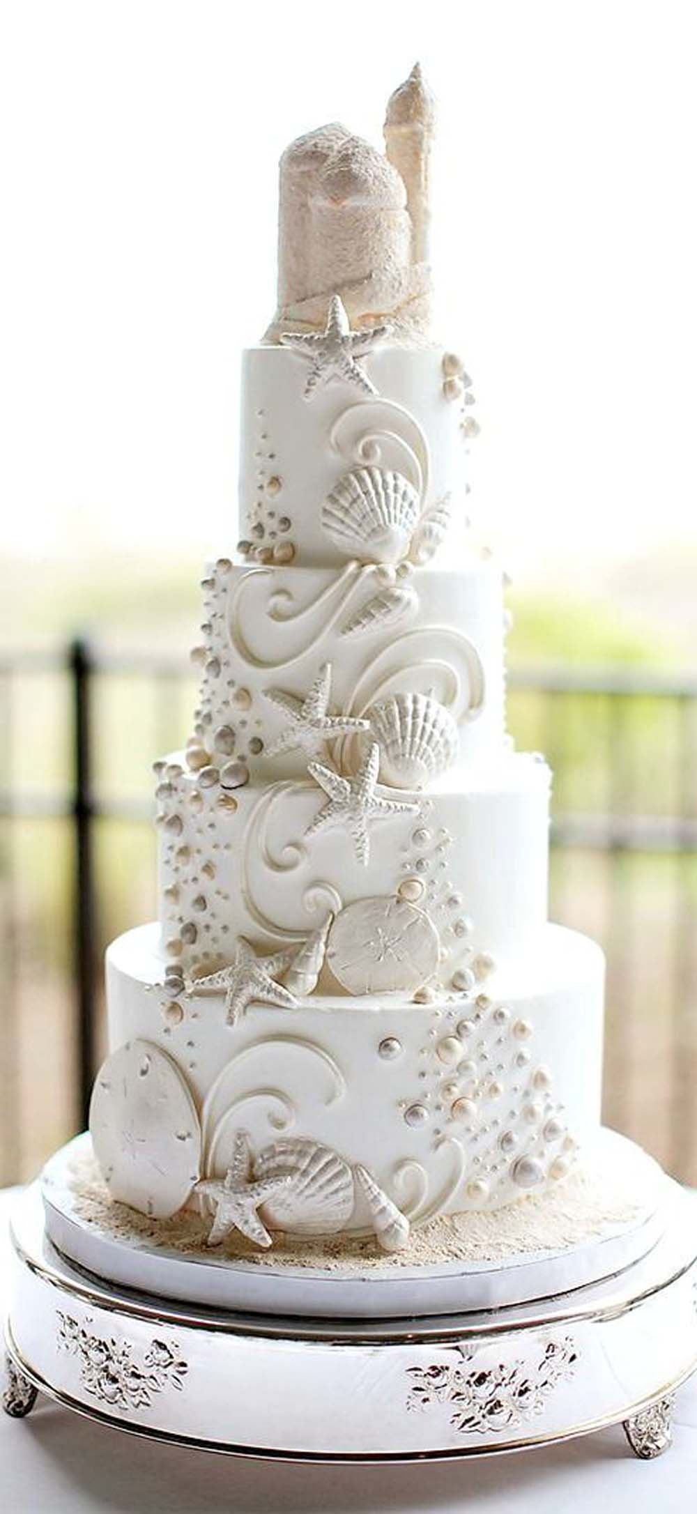 White Wedding Cakes That Are Anything But Traditional | Weddingbells