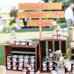 blush winery wedding in british columbia - jam favours