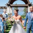 blush winery wedding in british columbia - ceremony