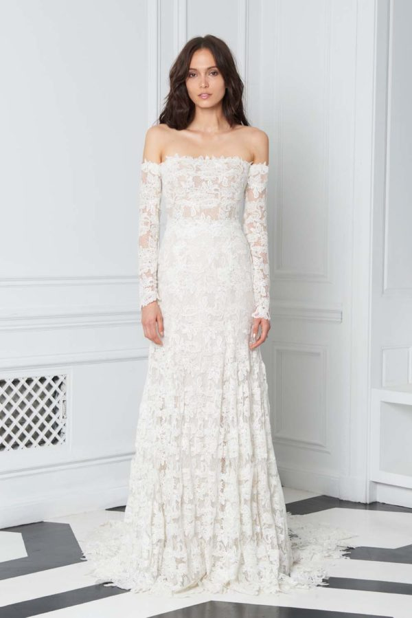 Bliss Monique Lhuillier Fall 2018 Wedding Dresses | Weddingbells