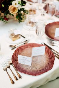 luxurious fall wedding in downtown toronto - tablescape