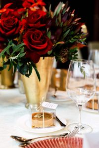 luxurious fall wedding in downtown toronto - favours