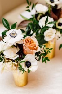 luxurious fall wedding in downtown toronto - flowers