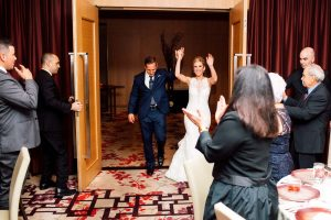 luxurious fall wedding in downtown toronto - reception