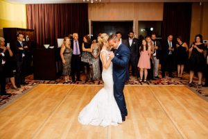 luxurious fall wedding in downtown toronto - first dance