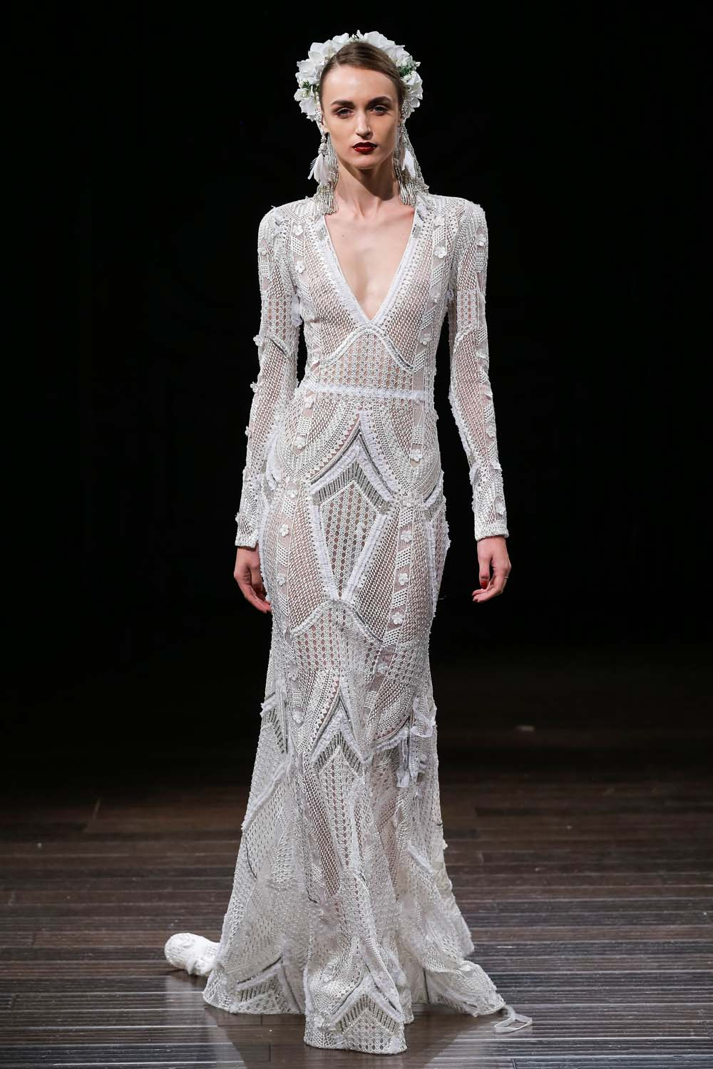 Great Naeem Khan Fall 2018 Wedding Dresses