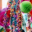 a colourful diy wedding in toronto - ceremony arch details
