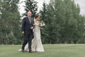 a gold wedding in saskatchewan - ceremony