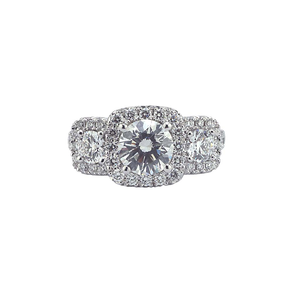 engagement stone diamond in ct platinum ring p shop rings floating for tw