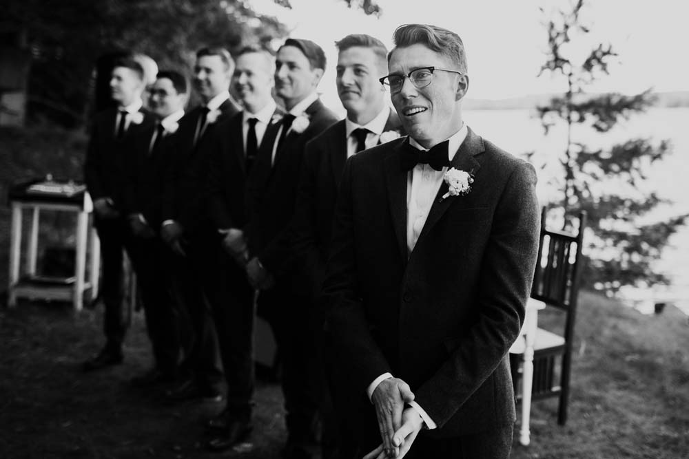 ten wedding-day moments that will melt your heart - groom and groomsmen