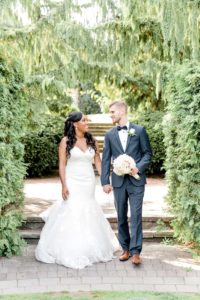 a romantic, elegant wedding in vaughan, ontario - bride and groom