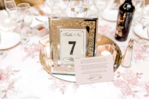a romantic, elegant wedding in vaughan, ontario - table numbers