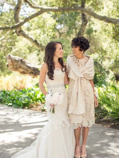 The Loveliest Mother of The Bride Dresses- short lace dress