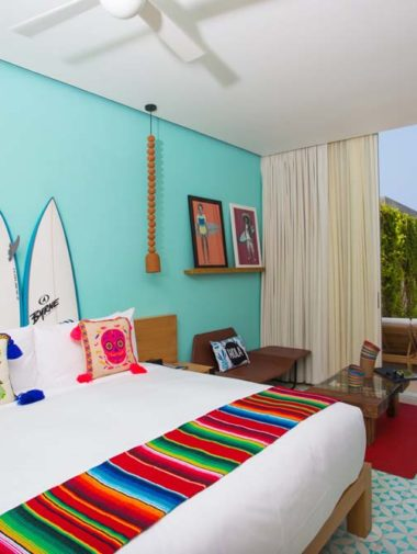 bachelorette party in mexico - hotel