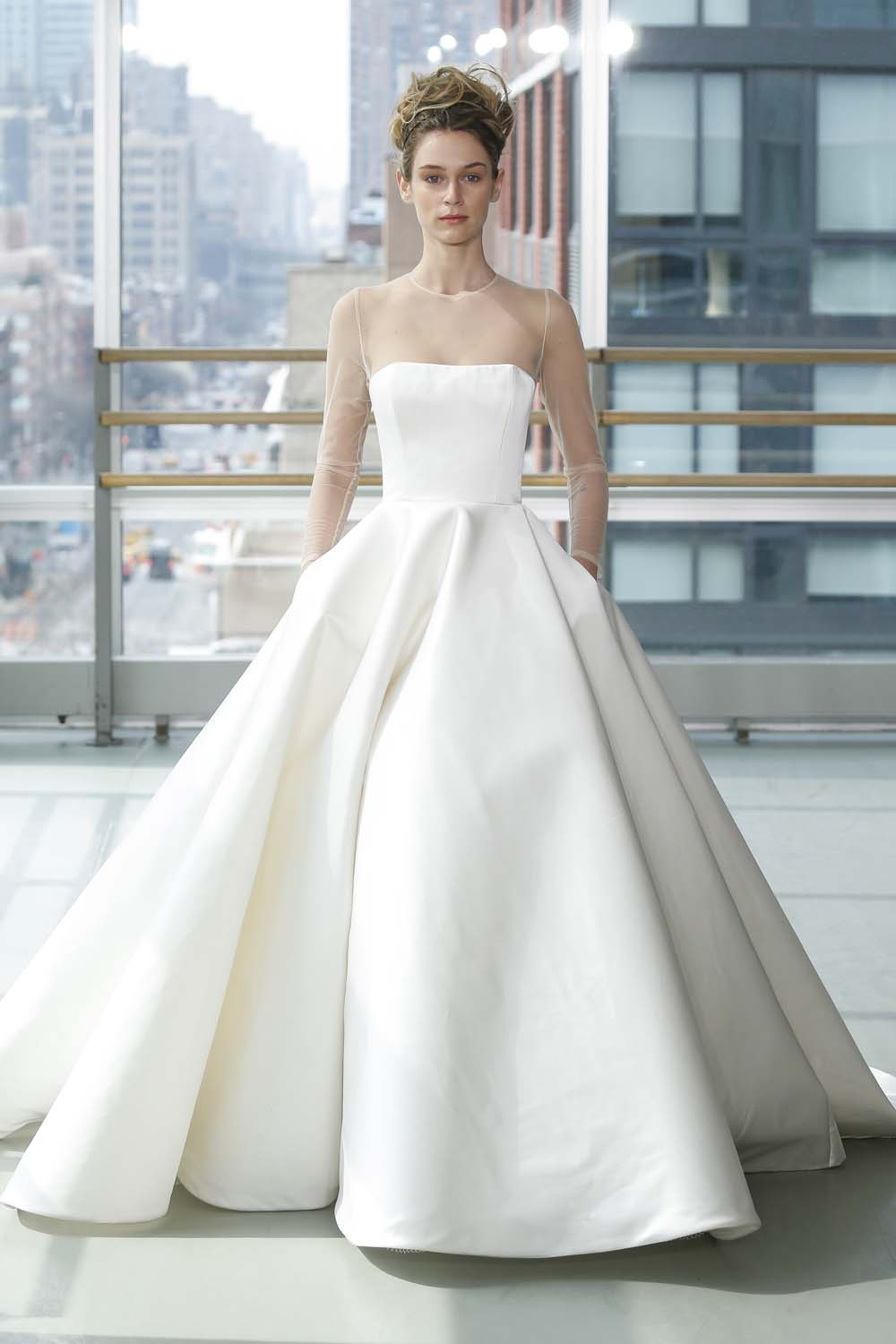 f2288554b314 The Top Wedding Dress Trends For Spring 2019 | Weddingbells